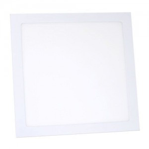 Светильник светодиодный Biom PL-S24 W 24Вт квадратный белый