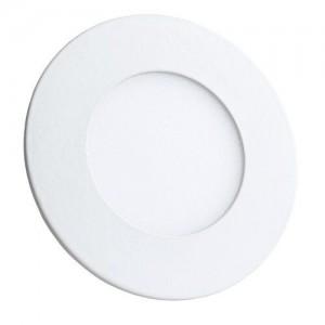 Светильник светодиодный Biom PL-R3 W 3Вт круглый белый (LY-3)