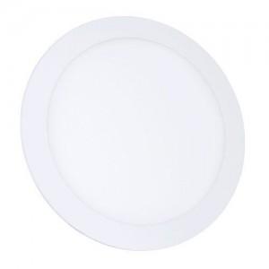 Светильник светодиодный Biom PL-R18 W 18Вт круглый белый (LY-18-01)