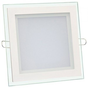 Светильник светодиодный Biom GL-S6 W 6Вт квадратный белый (LF-6)