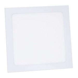 Светильник светодиодный Biom PL-S18 W 18Вт квадратный белый (LF-18-01)