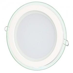 Светильник светодиодный Biom GL-R12 W 12Вт круглый белый (LY-12)