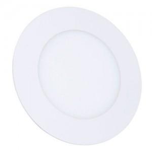 Светильник светодиодный Biom PL-R6 W 6Вт круглый белый (LY-6-01)