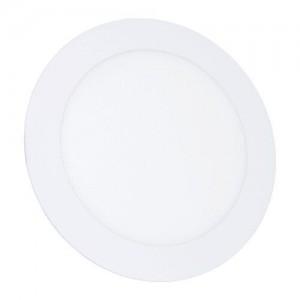 Светильник светодиодный Biom PL-R12 W 12Вт круглый белый (LY-12-01)