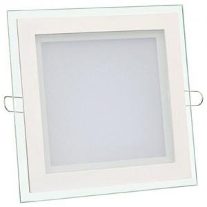 Светильник светодиодный Biom GL-S12 W 12Вт квадратный белый (LF-12)