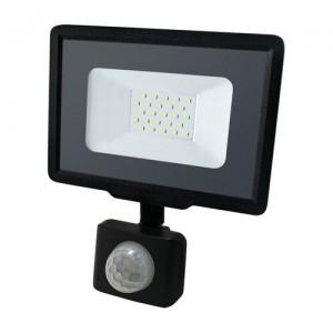 Светодиодный прожектор BIOM 20W S5-SMD-20-Slim+Sensor 6200К 220V IP65 с