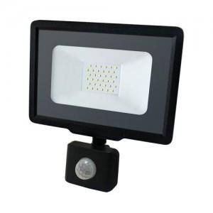 Светодиодный прожектор BIOM 30W S5-SMD-30-Slim+Sensor 6200К 220V IP65 с
