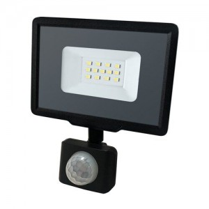 Светодиодный прожектор BIOM 10W S5-SMD-10-Slim+Sensor 6200К 220V IP65 с