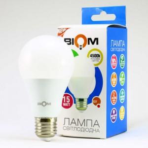 Светодиодная лампа Biom BT-516 A65 15W E27 4500К