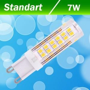 Светодиодная лампа Biom G9 7 W 3000K AC220