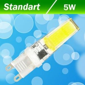 Светодиодная лампа Biom G9 5 W 3000K AC220