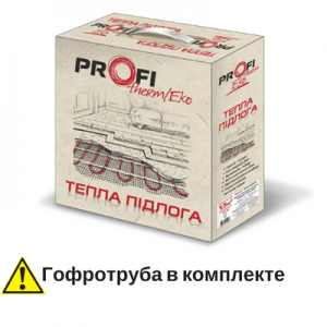 Теплый пол Profitherm Eko - 1,5 м.кв двужильный кабель