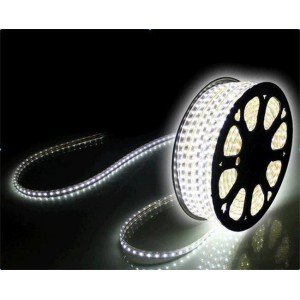 Светодиодная лента 5730-72 led/m 220V IP68 W белый