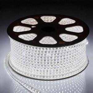 Светодиодная лента 5050-60 led/m 220V IP68 W белый