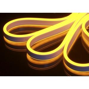 Светодиодная лента гибкий неон Dream Light 220v ip 68 AMBER (янтарный, оранжевый)