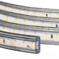 Светодиодная лента 3014-120 led/m 220V IP68 W белый