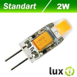 Светодиодная лампа Biom G4 2W 4500K AC/DC12