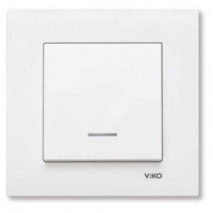 Выключатель VIKO с подсветкой