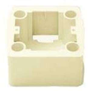 Коробка для наружного монтажа Karre (крем)