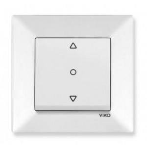 Выключатель для управления жалюзи кнопочный Meridian