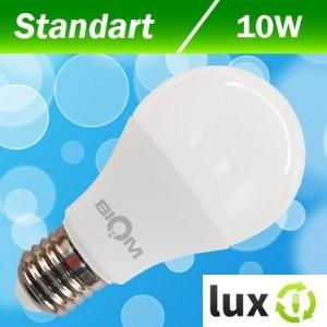 Светодиодная лампа Biom BT-509 A60 10W E27 3000К