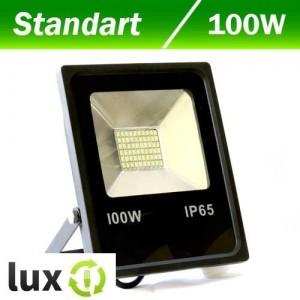Светодиодный прожектор BIOM 100W SMD slim 6500K 7550lm