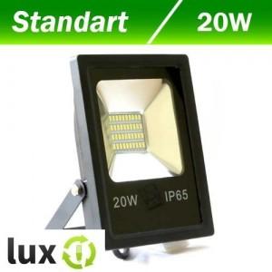 Светодиодный прожектор BIOM 20W SMD slim 6500K 1500lm
