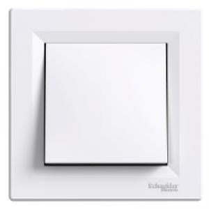 Выключатель 2-полюсный Schneider-Electric Asfora белый