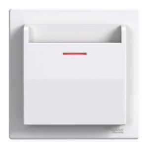 Выключатель карточный Schneider-Electric Asfora белый