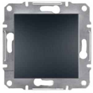 Выключатель проходной Schneider-Electric Asfora Plus антрацит