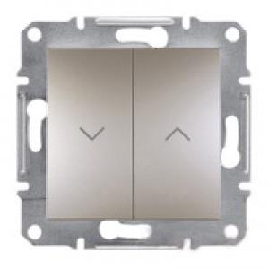 Выключатель для жалюзи Schneider-Electric Asfora Plus бронза