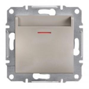 Выключатель карточный Schneider-Electric Asfora Plus бронза