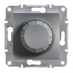 Диммер 20-315Вт (для LED-ламп) Schneider-Electric Asfora Plus сталь