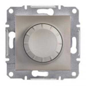 Диммер 20-315Вт (для LED-ламп) Schneider-Electric Asfora Plus бронза