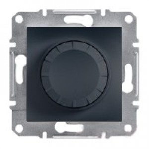Диммер 20-315Вт (для LED-ламп) Schneider-Electric Asfora Plus антрацит