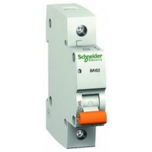 1Р 10A C Автоматический выключатель Schneider-Electric Домовой ВА63