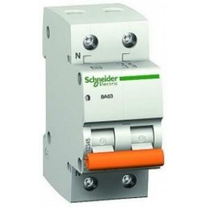1Р+N 10A C Автоматический выключатель Schneider-Electric Домовой ВА63