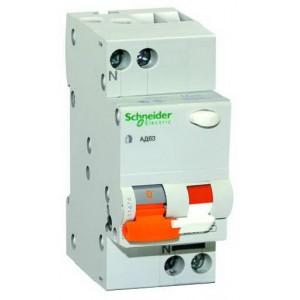 Дифференциальный автомат АД63 2P 16A З 30 мA Schneider-Electric Домовой