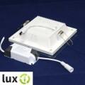 Светильник светодиодный Biom GL-S18 18Вт квадратный нейтральный белый